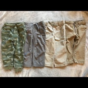 Lot of Casual Toddler Boy Pants Size 18M & 18-24M.